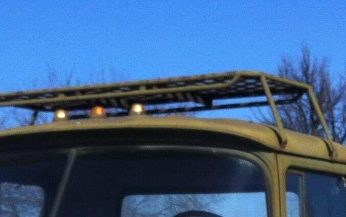Багажник на крышу конверсия Зил