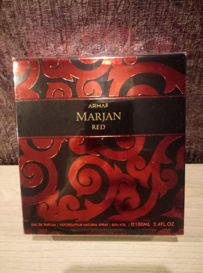 Парфюмированная вода marjan red armaf