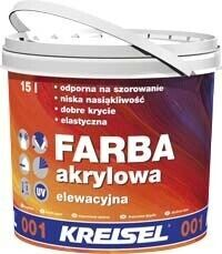 Farba Akrylowa 001 - краска акриловая фасадная 15 л база А
