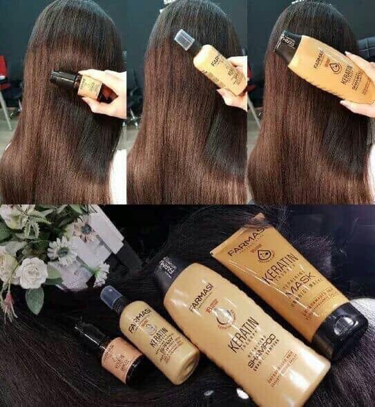 Спрей для волос Keratin
