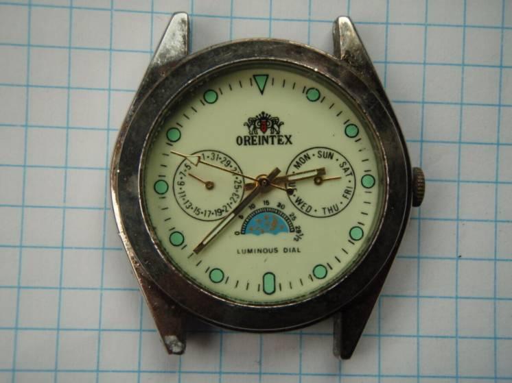 Механічний годинник OREINTEX . Лот 350 .