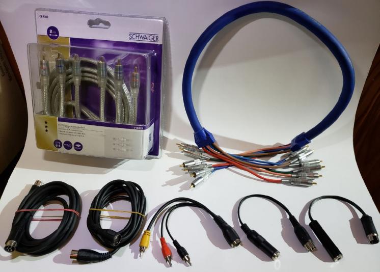 Качественный межблочный компонентный кабель RCA Audio aux тюльпан
