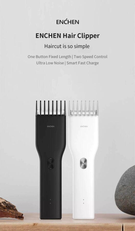 Xiaomi Mi Enchen Boost USB триммер машинка для стрижки беспроводная