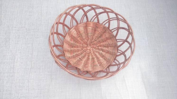 Ажурная тарелочка (ручная работа)