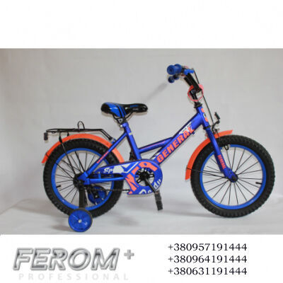 "Велосипед 16"" blue GENERAL"