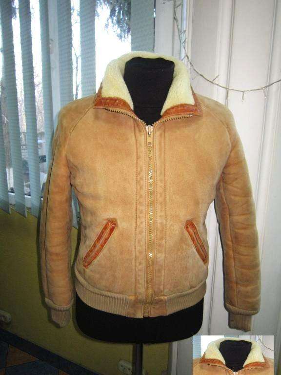 Мужская натуральная кожаная куртка на меху. Германия. Лот 767