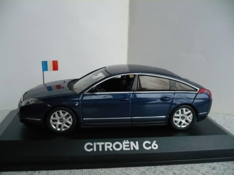 Citroen C6 Presidentielle 1:43 Norev