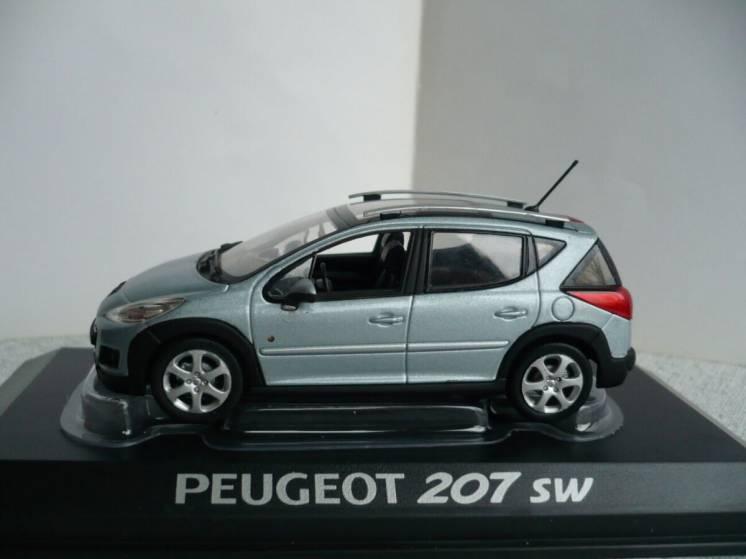 Peugeot 207 SW 1:43 Norev