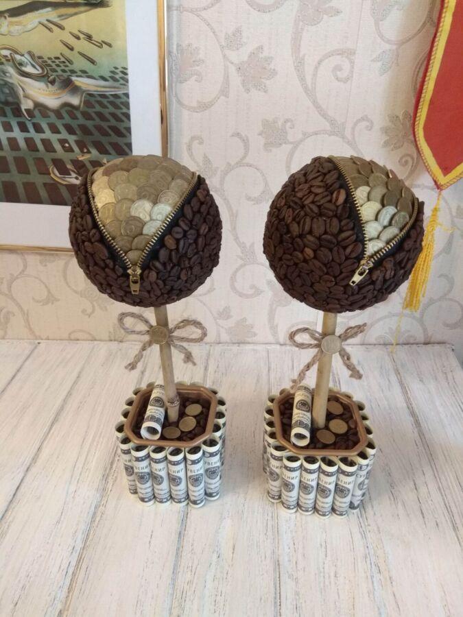 Подарок сувенир подарки сувениры на праздник топиарий