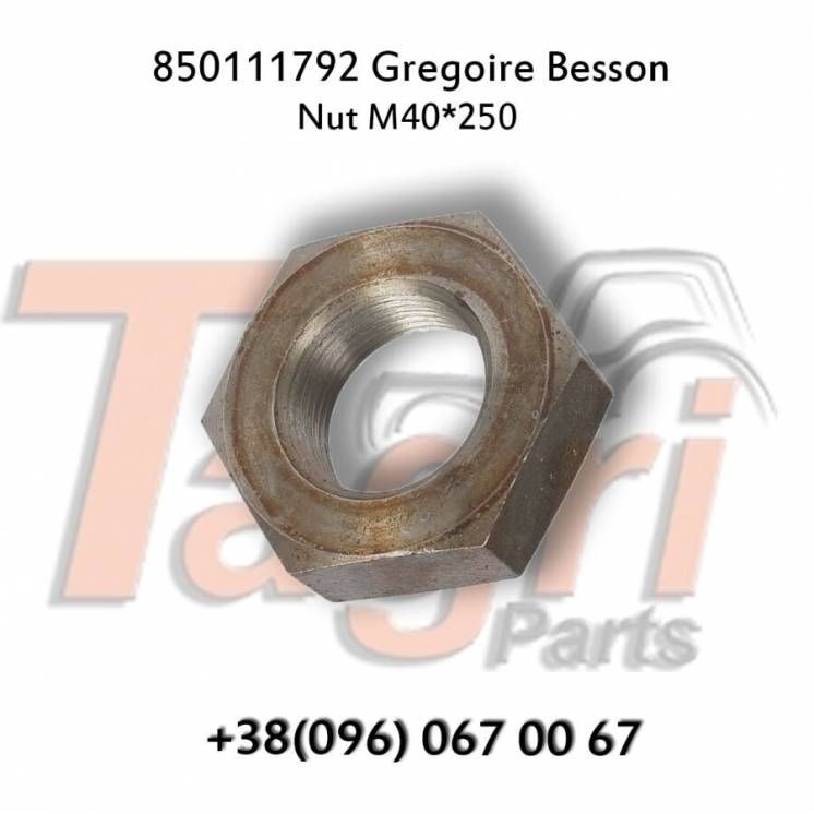 850111792 Гайка М40*2,5 Gregoire Besson
