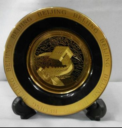 "Тарелка сувенирная из Китая ""BEIJING"""