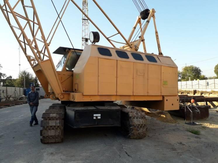 Кран гусеничный РДК-250 маневровый гусек 20 метров