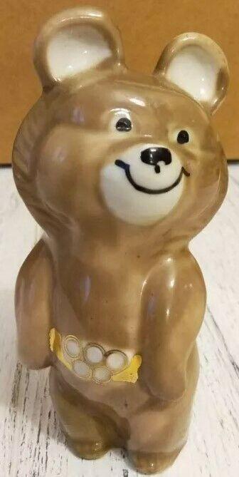 Мишка олимпийский СССР статуэтка
