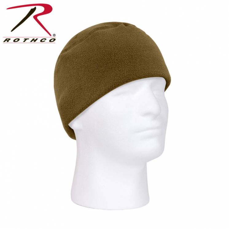 Шапка Rothco E.C.W.C.S. polar fleece watch cap coyote.