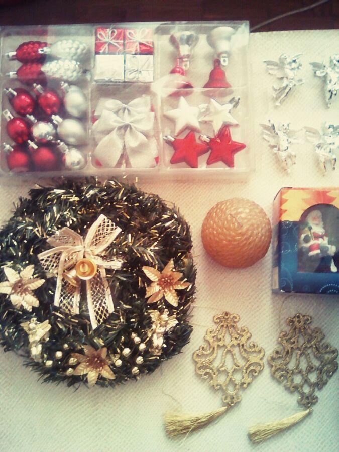 Набор Елочные игрушки украшения,ИКЕА,IKEA, Венок новогодний