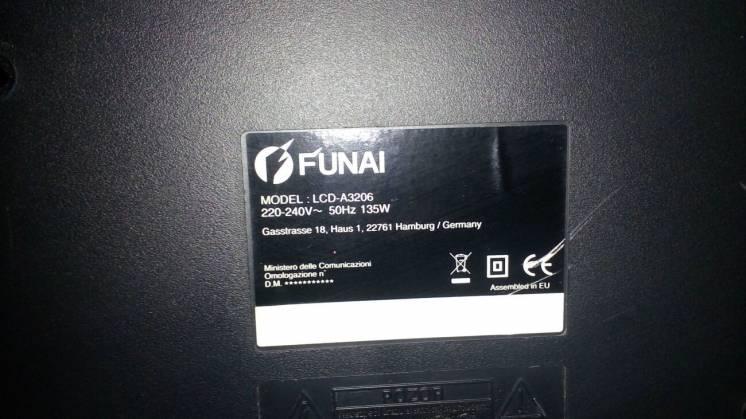 Телевізор Funai LCD-A3206 (Funai LCD-A3207) розбита матриця