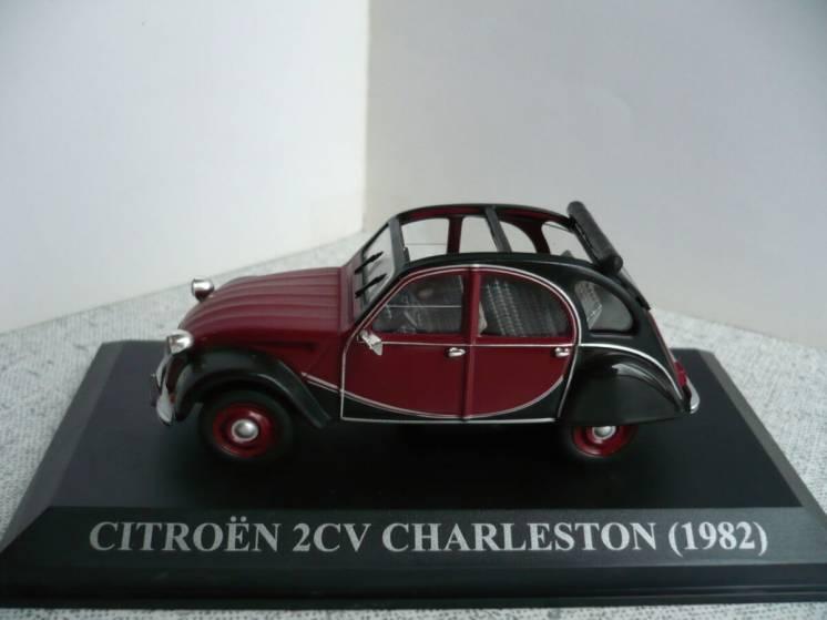 Citroen 2CV Charlston - Модель 1/43 Altaya