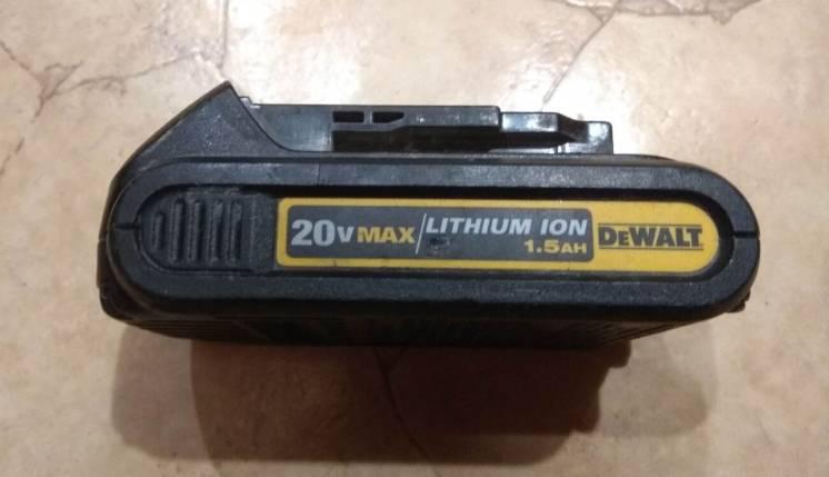 Аккумулятор батарея DeWALT DCB201 Оригинал