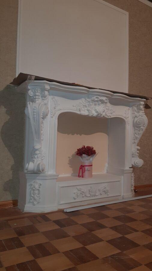Фальш камин, камінний портал, декоративный портал (М11)