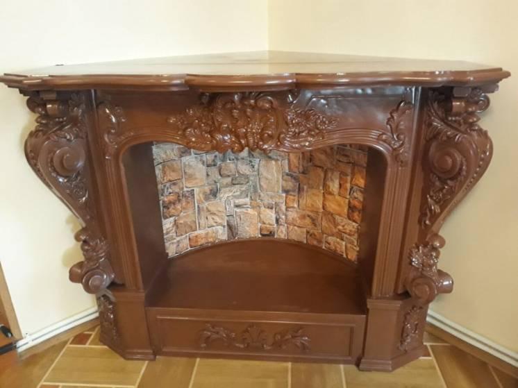Портал для камина, фальш камин, декоративный камин (М21)