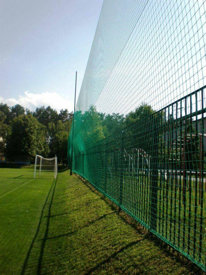 Сетка заградительная для спортивных площадок