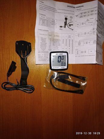 Велосипедный компьютер, бортовой гаджет