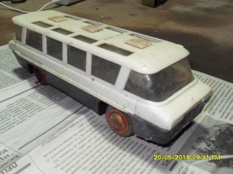 Раритетная игрушка 70-х годов автобус машинка
