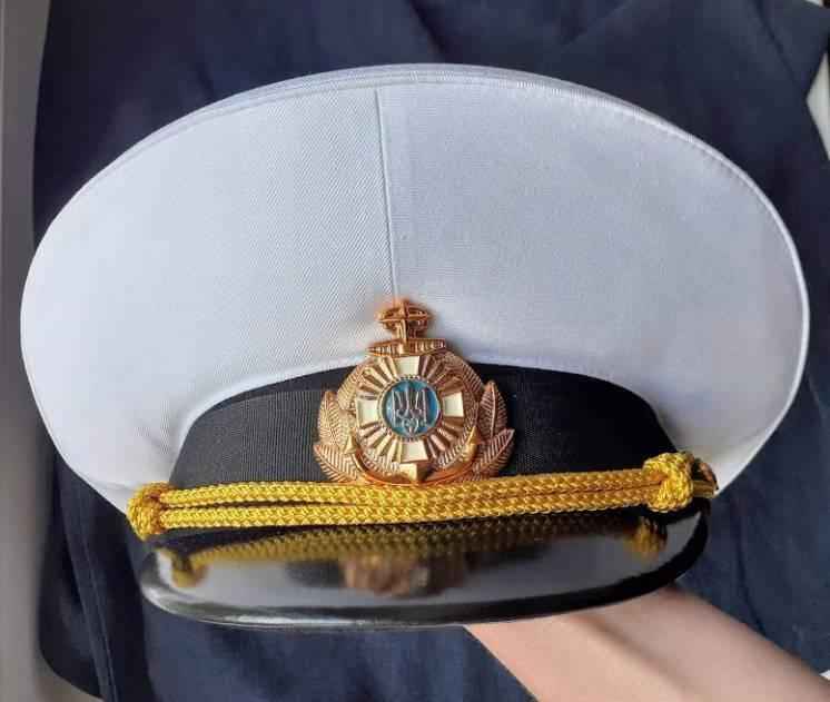 Фуражка офицерская ВМС Украины ВМФ