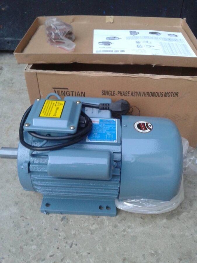 Электродвигатель однофазный 3 квт 3000 об/мин 220В новый