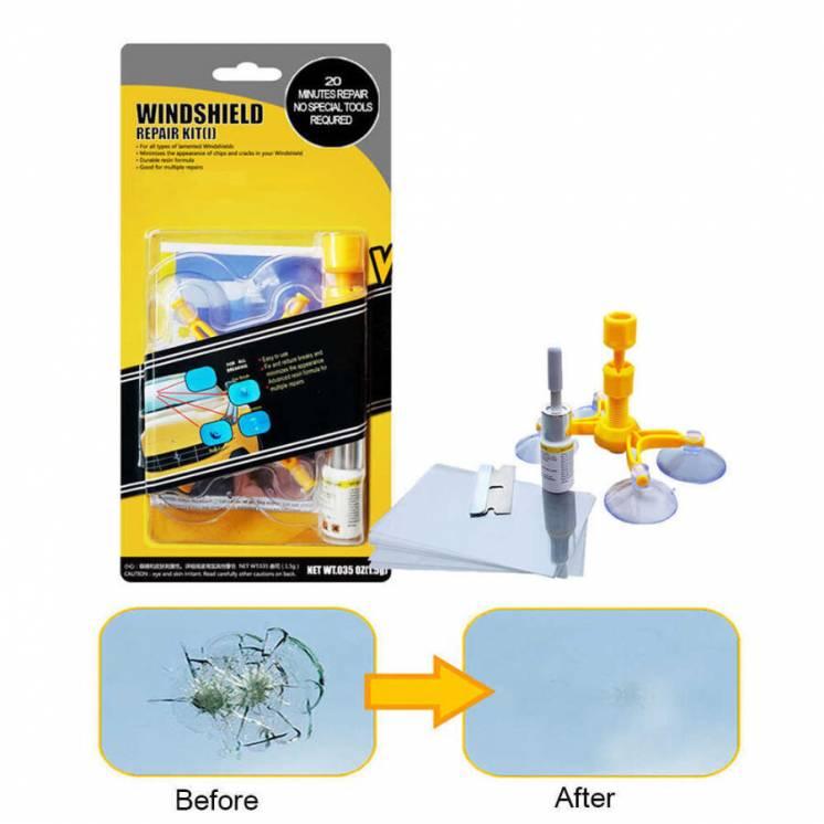 Набор для ремонта трещин лобового стекла