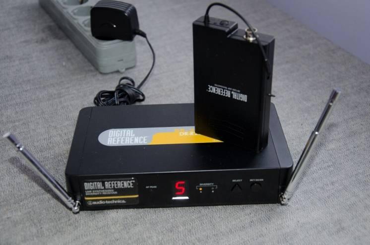 Радіосистема для гітари інструментальна Audio-Technica ATW-701/G
