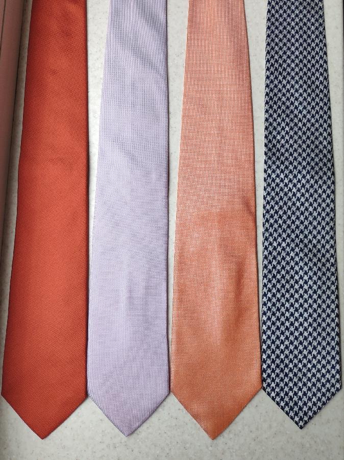 Шелковые итальянские галстуки Suit Supply