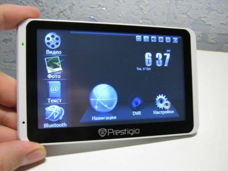 """GPS навигатор + регистратор 2 в 1! Prestigio 5"""" в идеале! 4 программы!"""