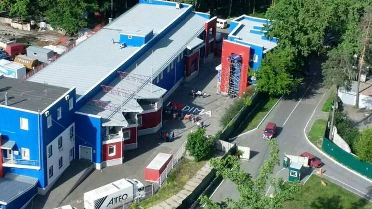 Офисно-складской комплекс в Коцюбинском, Киев.
