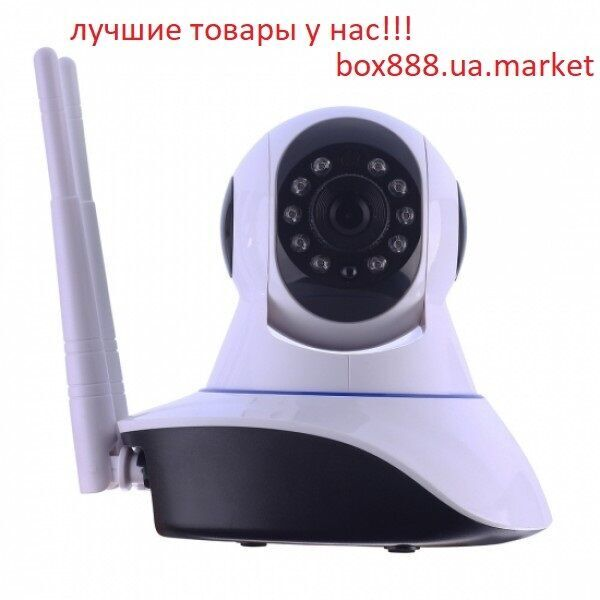IP Камера видео-наблюдение, WI-FI камера, онлайн поворотная, ночное ви