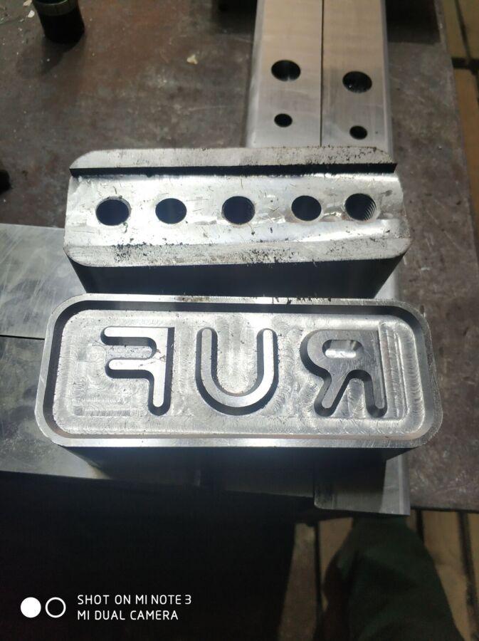 Реставрация RUF брикетов матриц.