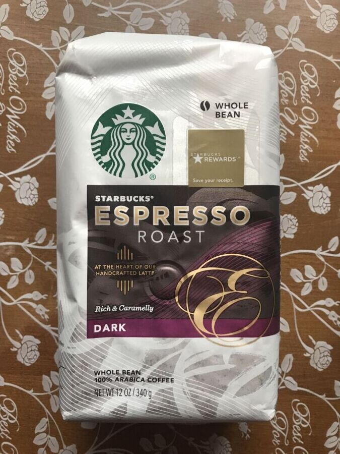 Зерновой Кофе Starbucks Espresso зерно 340г - зернова кава старбакс сш