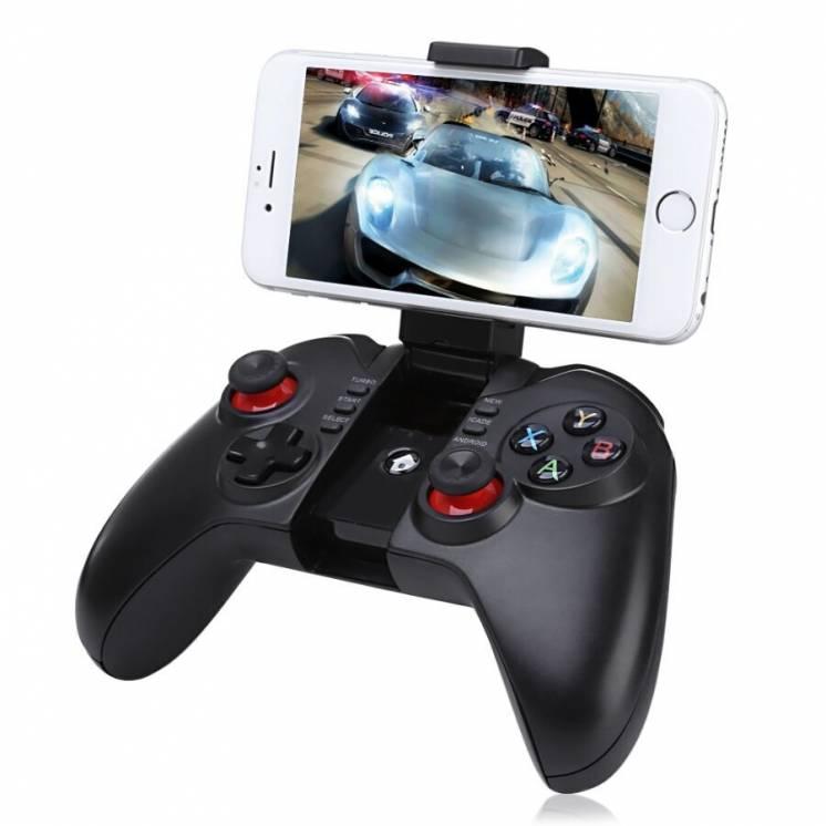 Беспроводной игровой джойстик геймпад 9068 Bluetooth. Доставка Украина