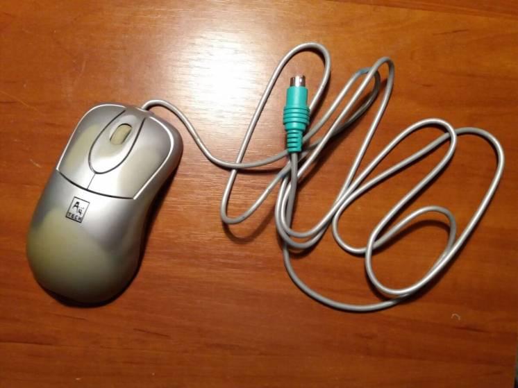 Мышка A4 Tech SWOP-35 PS/2