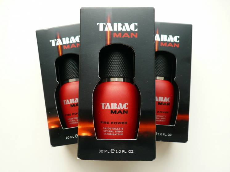 Туалетная вода Tabac Fire Power  от Maurer-Wirtz