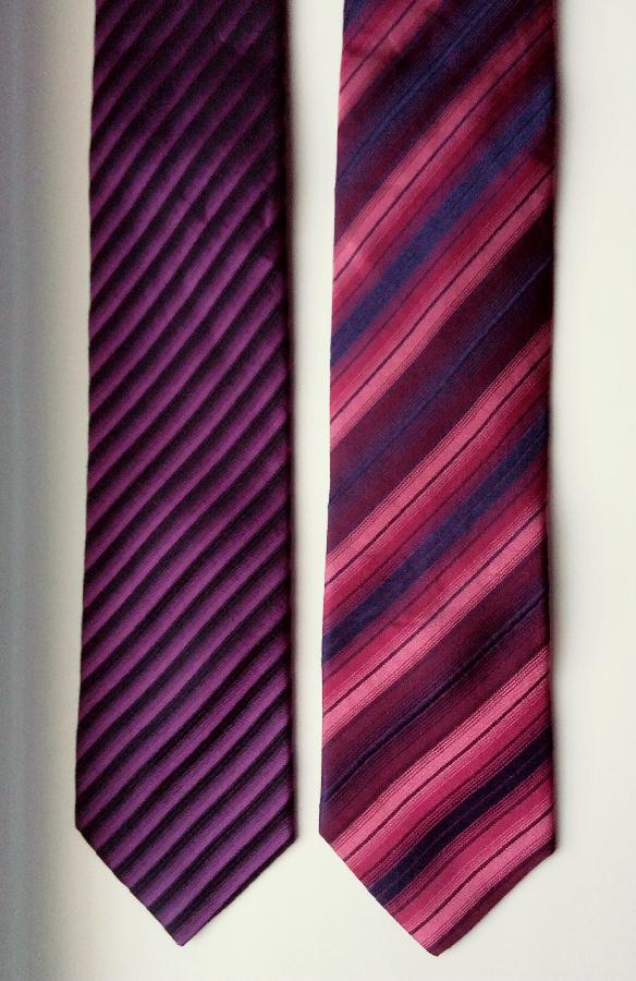 Зауженные шелковые галстуки Aldo Colitti