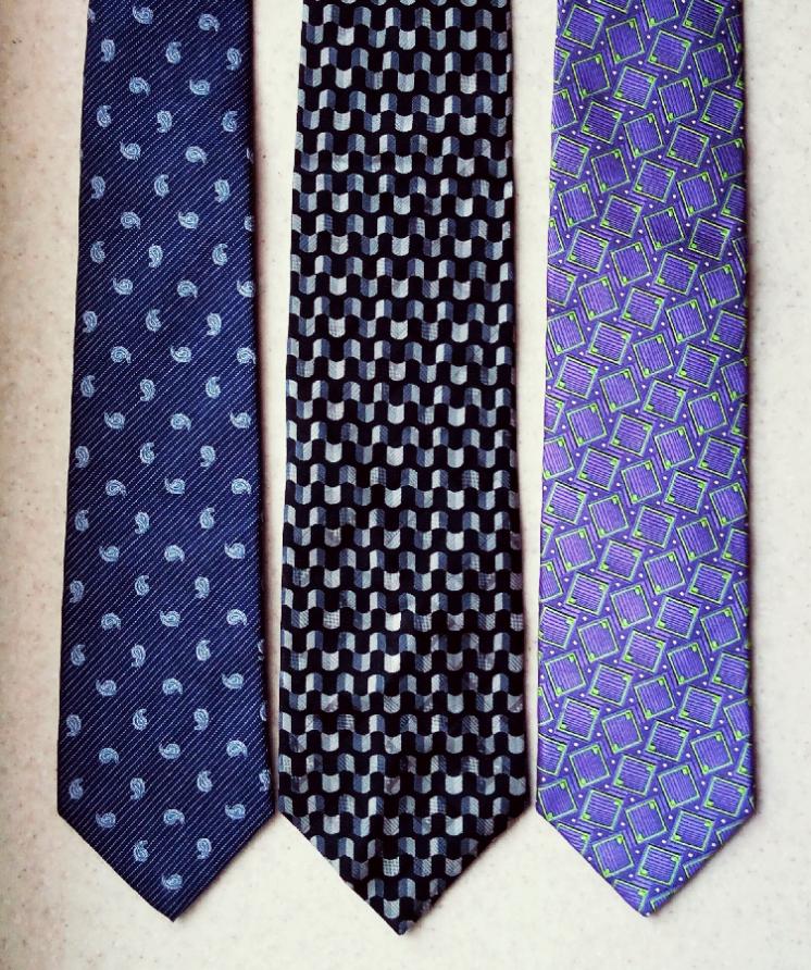 Шелковые галстуки Hammond & Co, Alessandro Magno и Eremitage