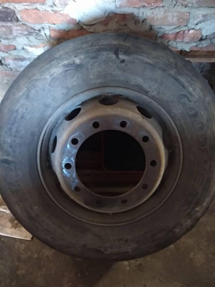 Вантажне колесо