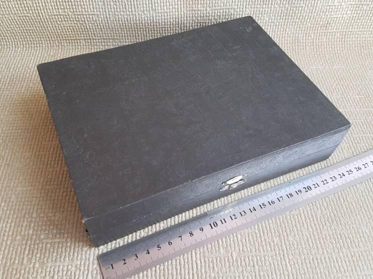 Коробка на 12 столовых ложек, вилок МНЦ. №1
