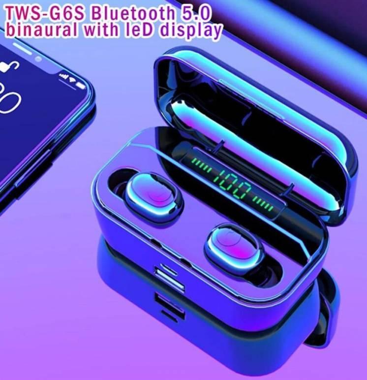 Наушники беспроводные G6S TWS, Bluetooth гарнитура