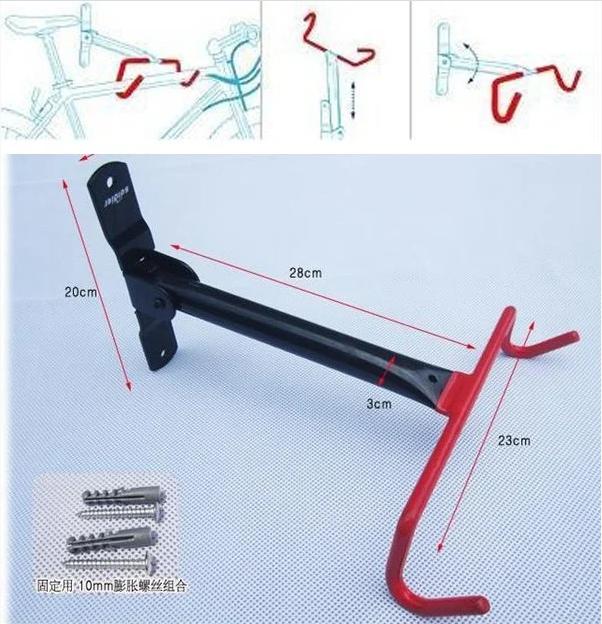 Крепление,держатель для велосипеда на стену 0185