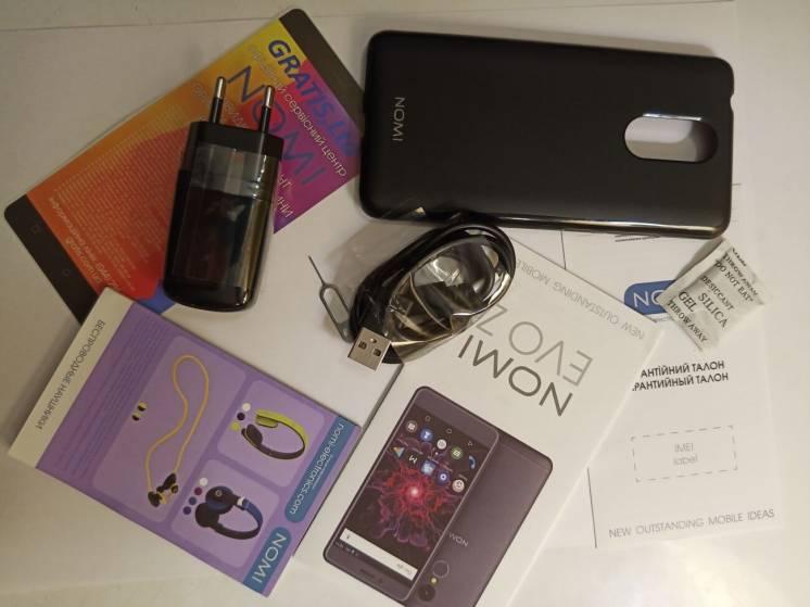 Смартфон Nomi i5050 EVO Z 3/32GB Dark-Blue