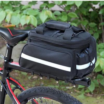 Велосипедная раскладная сумка на багажник 25-35 л 0303