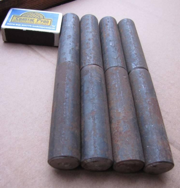 4 средние железные завесы (для металлических: дверей, люков, крышек и