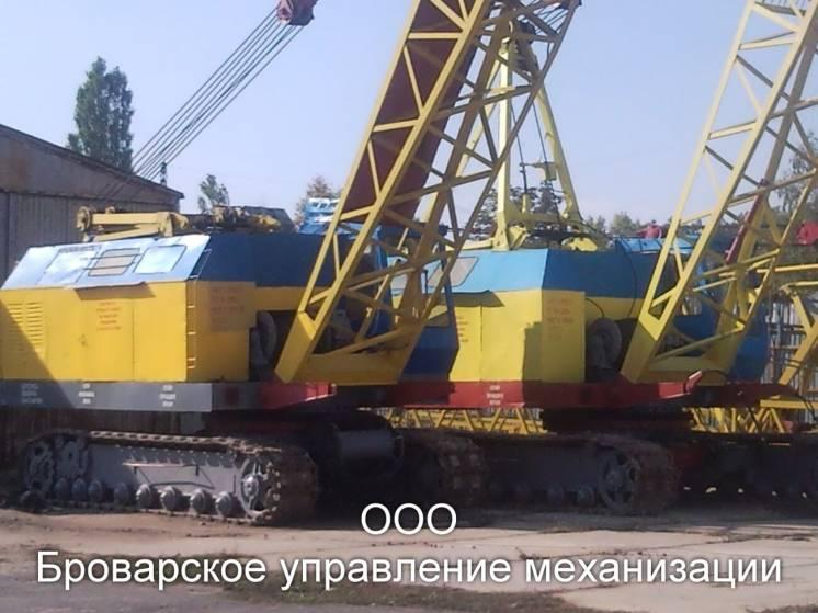 Аренда гусеничного крана МКГ-25БР Киев и др.